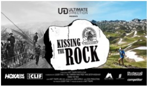 kissing the rock
