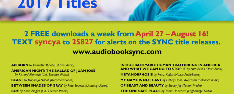 FREE AudioBooks for Teens ALL SUMMER LONG!!!