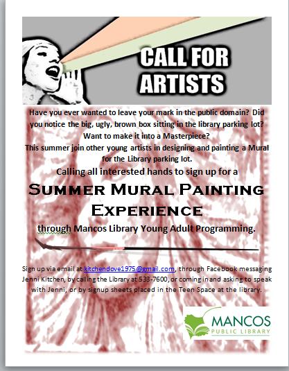 Summer Programs at Mancos Public Library