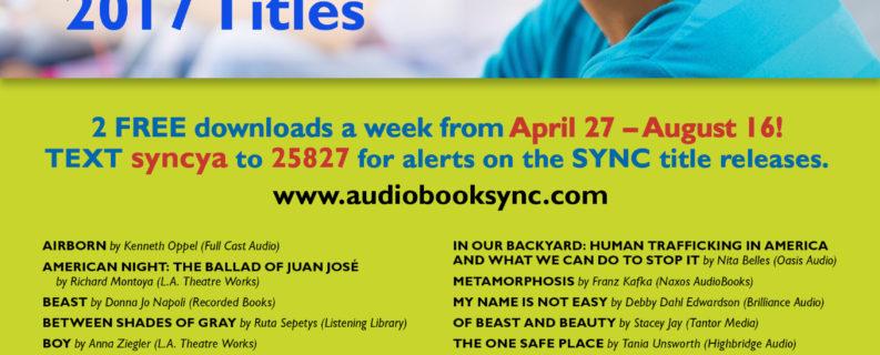 FREE AudioBooks for Teens ALL SUMMER LONG!!!
